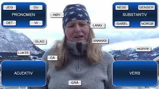 Se globalskolelærer Elisabeth forklare ulike ordklasser