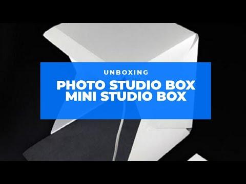 UNBOXING MagicBox Portable Mini Studio Light Box