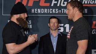 Fight Night Las Vegas: The Match Up - Nelson vs Rosholt
