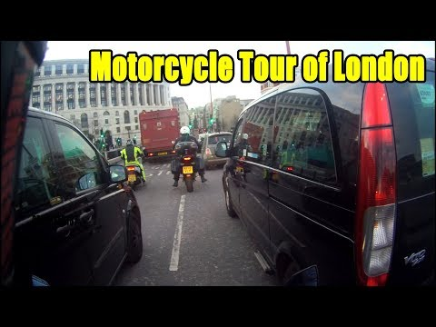 A Motorcycle Tour Of London 💂