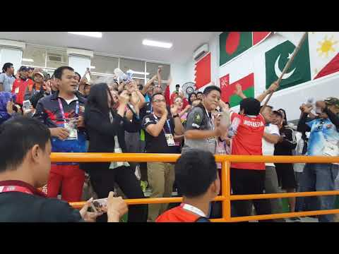"Indonesia Shooting Supporter ""Rapid Fire Pistol Asian Games 2018 Final"" Siapa Kita : Indonesia"