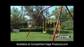 Lifetime A-frame Swing Set 90200