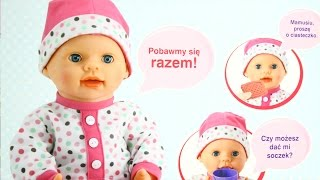 lali baby doll bobas lali lalka funkcyjna interaktywna icom megadyskont pl