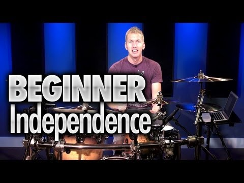 Beginner Drumming Independence - Drum Lesson (DRUMEO)