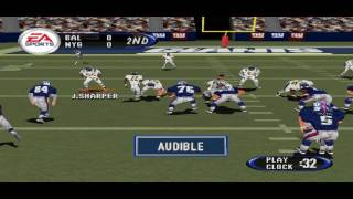 Madden NFL 2001 PS1 Gameplay HD