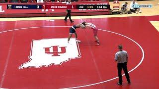 174 LBS: #1 Mark Hall (Penn State) vs. Jake Covaciu (Indiana)