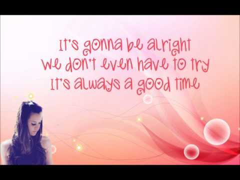 Good Time  w/ lyrics (cover) Megan Nicole.