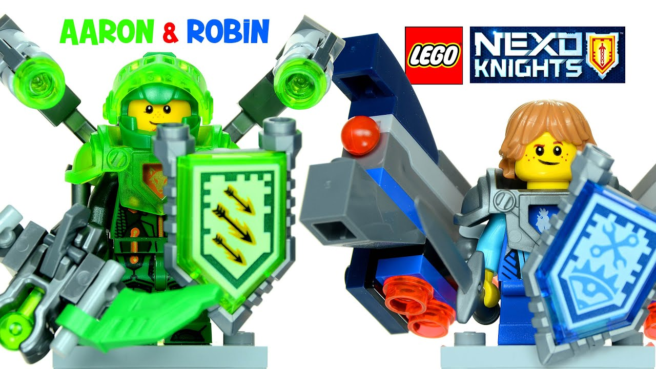 lego 174 nexo knights ultimate aaron 70332 ultimate robin