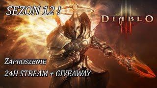 �������� ���� Diablo 3 RoS - Zaproszenie na Start 12 Sezonu ! 16:00 24H STREAM ! GIVEAWAY ! ������