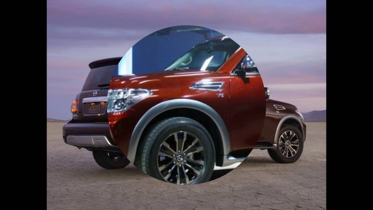 2018 nissan armada suv concept redesign changes youtube. Black Bedroom Furniture Sets. Home Design Ideas