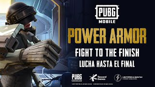 PUBG MOBILE Power Armor Creator Tournament - Fight to the Finish!