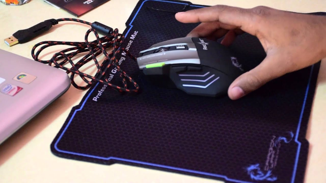 9ec2a5f3a6d Gaming Mouse-Dragon War ELE G9 Thor Wired Gaming Mouse I Unboxing I Details  I Review.