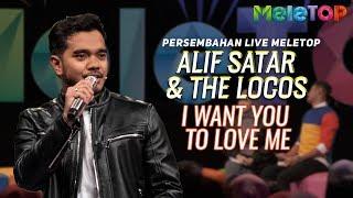 Alif Satar & The Locos - I Want You To Love Me | Persembahan Live MeleTOP | Neelofa & Nabil