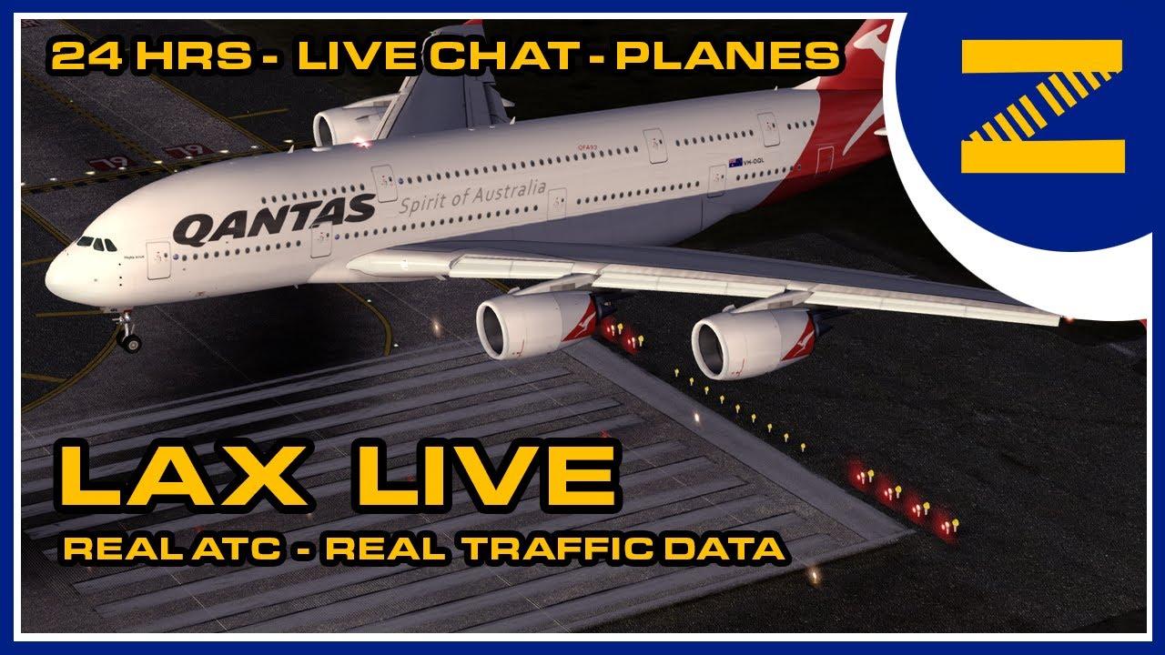 Download LAX AIRPORT 24/7 | LIVE ADS-B TRAFFIC | PLANESPOTTING | LIVE ATC | ASMR