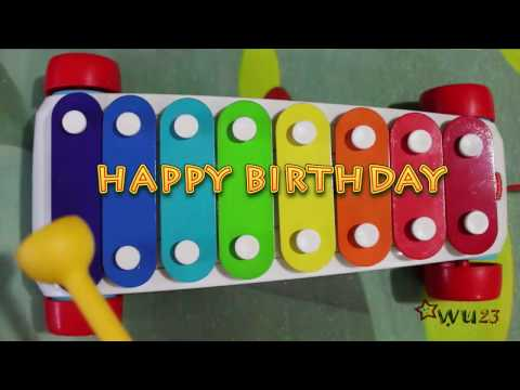 How to Play Happy Birthday on Fisher Price Toy Xylophone