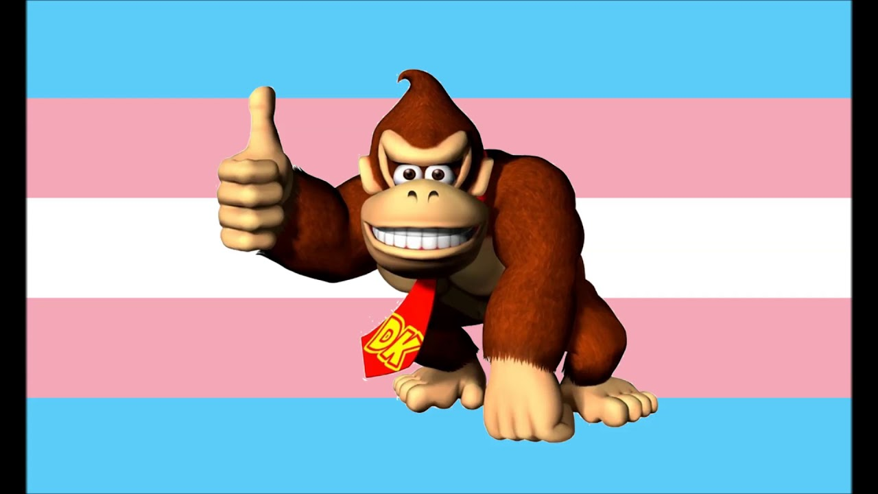This is a photo of Nerdy Donkey Kong Picture