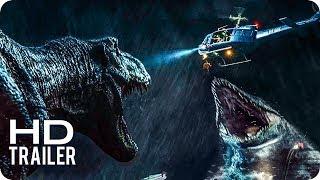Jurassic World 2 El Reino Caído Trailers 1 Al 3 Subtitulado Español Latino 2018 Youtube