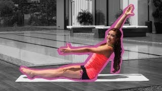 Fabulous Flat Abs for Beginners | Pilates Bootcamp With Cassey Ho