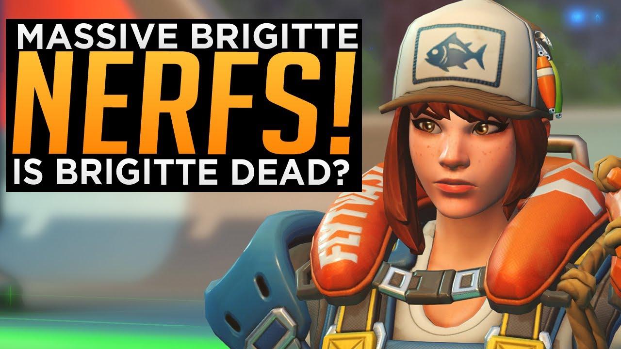Overwatch: MASSIVE Brigitte Nerfs! - Is Brig STILL Overpowered?