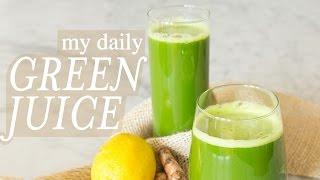 My Daily Green Juice