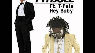 pitbull ft t-pain - hey baby (remix) (merengue electronico) [2011]