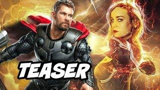 Avengers 4 Captain Marvel Prequel Teaser and New Plot Synopsis Breakdown thumbnail