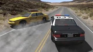 Police Chase Takedowns 2  - BeamNG.Drive Crashes