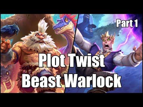 [Hearthstone] Plot Twist Beast Warlock (Part 1)