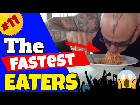 The Fastest Eaters Compilation #11 (World Records)