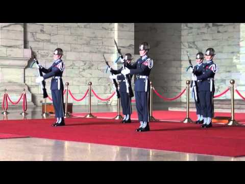Changing of the Guards, CKS Memorial Hall, Taipei, Taiwan, 6/12/2013