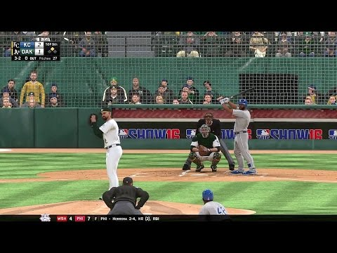 MLB The Show 16 Oakland Athletics Franchise: vs Kansas City Royals (Ep. 5)