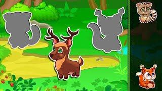 Let's Play • Kids Puzzle Animals • Układanki dla dzieci, Odgłosy zwierząt, Bajki, Gry dla dzieci