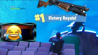 I was being shot in all directions, Then This Happened...   Fortnite Battle Royale Solo Win