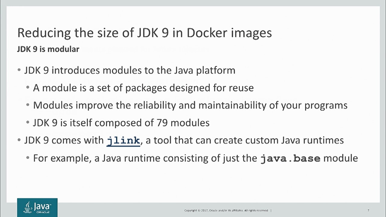 Java in a World of Containers by Paul Sandoz