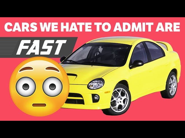 6 Cars People Hate To Admit Are Fast