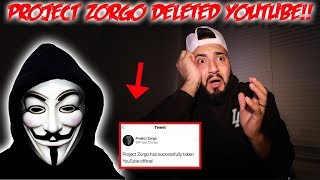 Download Video PROJECT ZORGO TOOK DOWN YOUTUBE! *THE HAUNTED GAME MASTERS ARE DELETING  YOUTUBE* | MOE SARGI MP3 3GP MP4