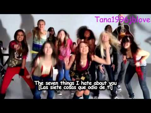 Miley Cyrus  7 Things Lyrics  Traducida Al EspañolMusic  HD