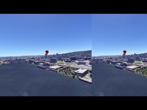 Google Earth VR in Oculus Rift