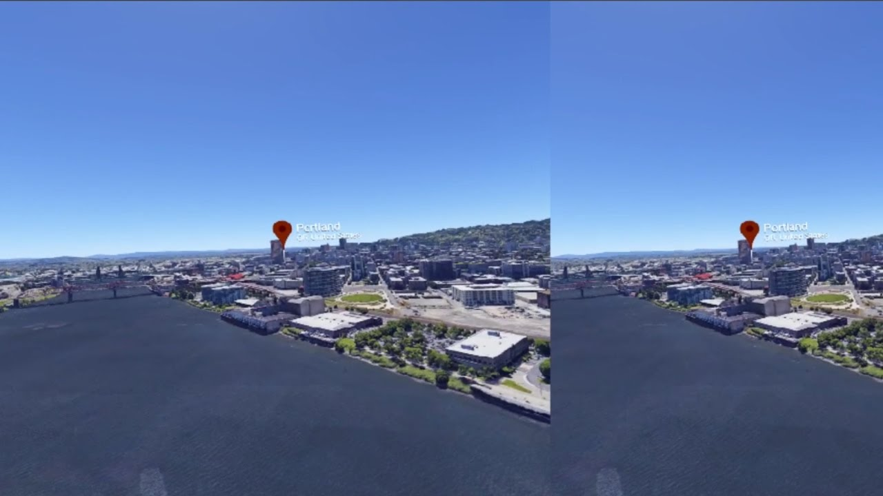 Google Earth VR in Oculus Rift