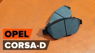 Como substituir Jogo de pastilhas para travão de disco CORSA D - manual vídeo passo-a-passo