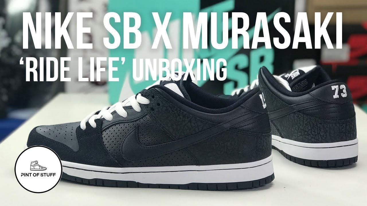 Nike SB x Murasaki Zoom Dunk Low 'Ride