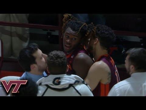 Chris Clarke Scores Final 6 Virginia Tech Points In Upset of No. 5 Duke