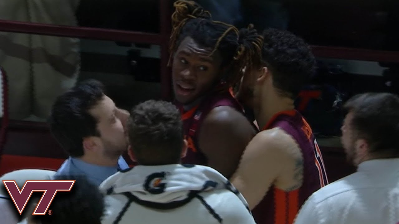 VIDEO: Chris Clarke tip-in helps Virginia Tech score upset over No. 5 Duke