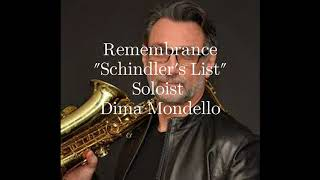 Remembrances (Schindler's List) with Cadenza. Soloist Dima Mondello (sax)