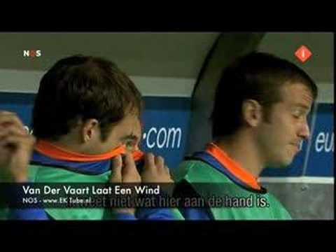 Van Der Vaart laat een wind