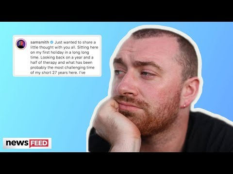 Sam Smith Gets CANDID About Extremely Difficult Year!