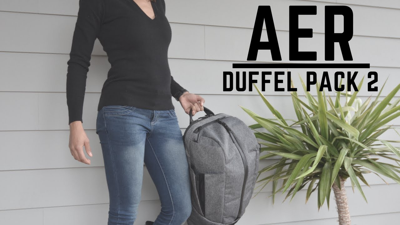 3a8567049c149c AER Duffel Pack 2 Gym to Work with Ease! - YouTube