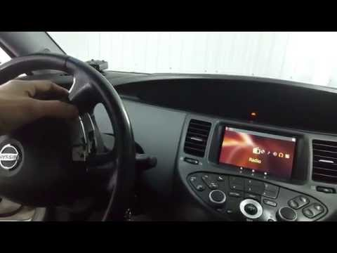 Альтернативная мультимедиа Nissan Primera P12