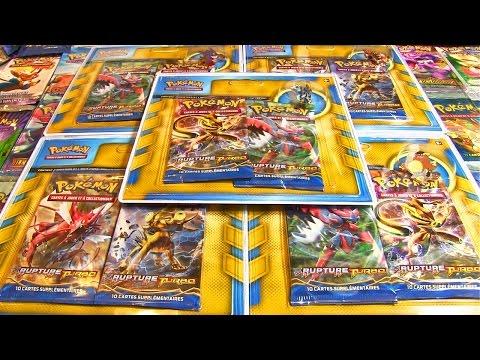 Ouverture de 5 Pack Pokémon Légendaire...