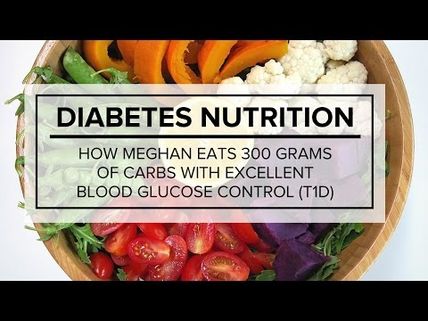Diabetes Nutrition – How Meghan Eats 300 Grams of Carbs with Excellent Blood Glucose Control T1D